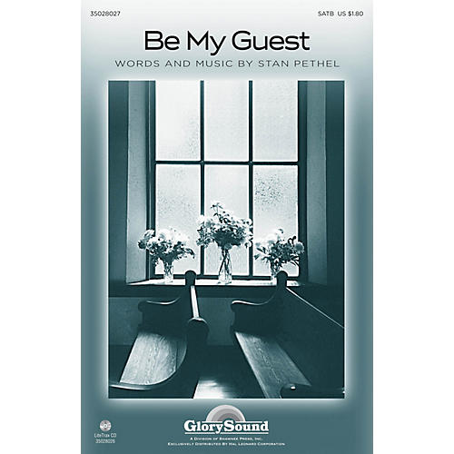 Shawnee Press Be My Guest SATB composed by Stan Pethel-thumbnail