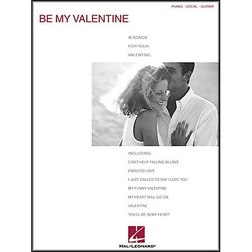 Hal Leonard Be My Valentine Piano, Vocal, Guitar Songbook-thumbnail