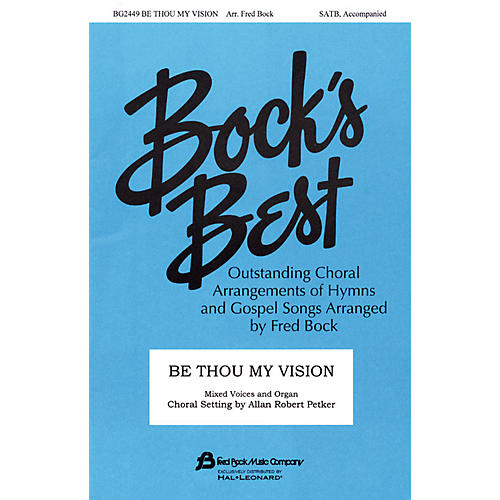 Fred Bock Music Be Thou My Vision SATB arranged by Fred Bock-thumbnail