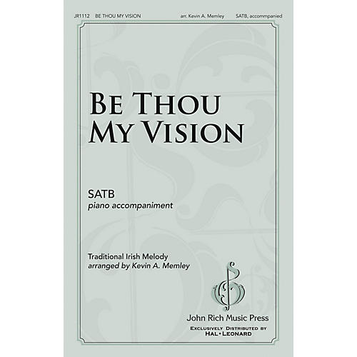 John Rich Music Press Be Thou My Vision SATB arranged by Kevin Memley-thumbnail