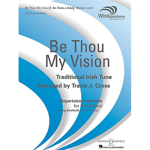 Boosey and Hawkes Be Thou My Vision (Score Only) Concert Band Level 4 Composed by Travis J. Cross-thumbnail
