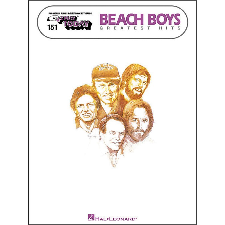 Hal Leonard Beach Boys Greatest Hits E-Z Play 151