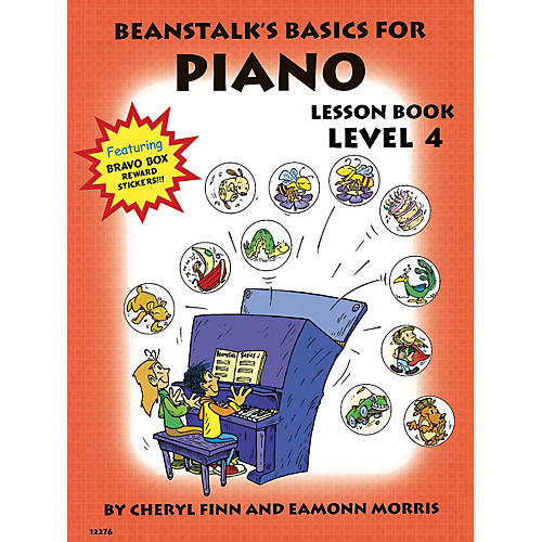 Willis Music Beanstalk's Basics for Piano (Lesson Book Book 4) Willis Series Written by Cheryl Finn-thumbnail