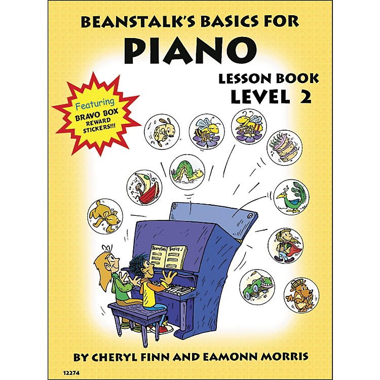 Willis MusicBeanstalk's Basics for Piano Lesson Book Level 2