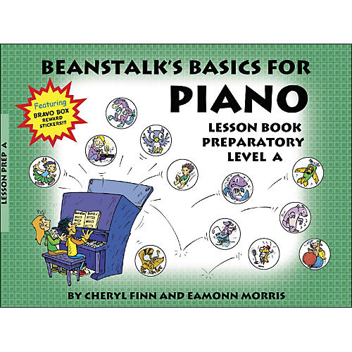 Willis Music Beanstalk's Basics for Piano Lesson Book Preparatory Level A-thumbnail