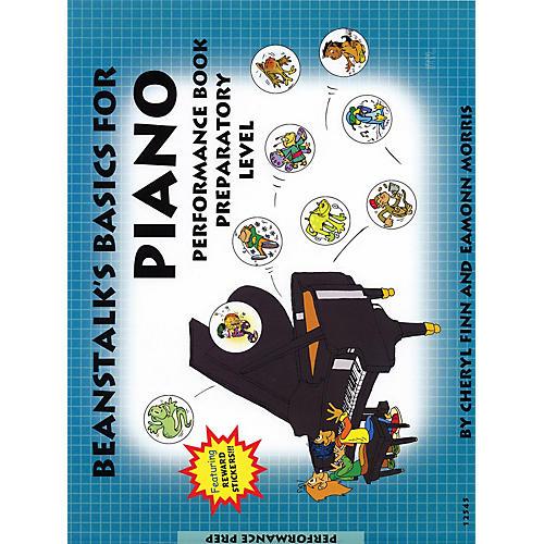 Willis Music Beanstalk's Basics for Piano (Performance Book Preparatory Book) Willis Series Written by Cheryl Finn-thumbnail
