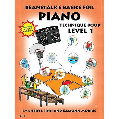 Willis Music Beanstalk's Basics for Piano (Technique Book Book 1) Willis Series Written by Cheryl Finn