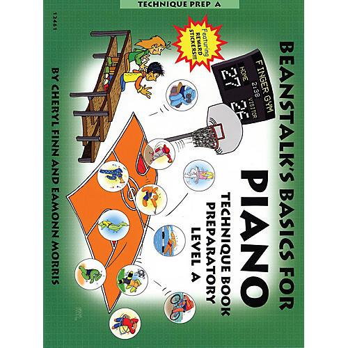 Willis Music Beanstalk's Basics for Piano (Technique Book Preparatory Book A) Willis Series Written by Cheryl Finn-thumbnail