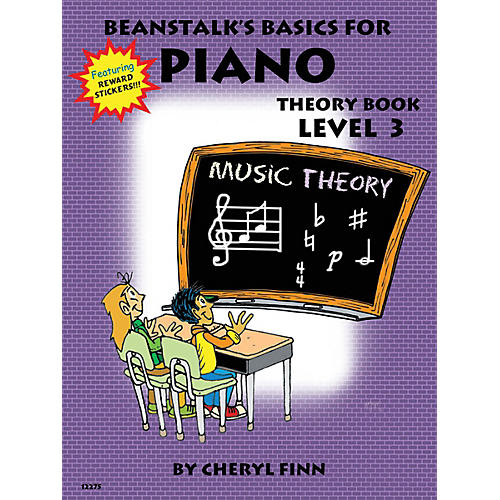 Willis Music Beanstalk's Basics for Piano (Theory Book Book 3) Willis Series Written by Cheryl Finn-thumbnail