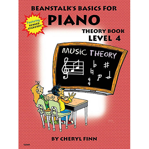 Willis Music Beanstalk's Basics for Piano (Theory Book Book 4) Willis Series Written by Cheryl Finn-thumbnail