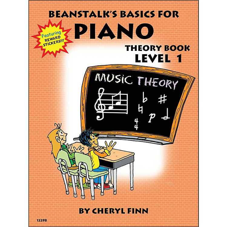 Willis MusicBeanstalk's Basics for Piano Theory Book Level 1