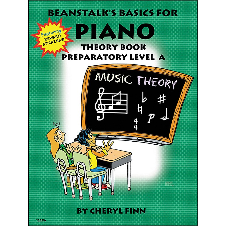 Willis Music Beanstalk's Basics for Piano Theory Book Preparatory Level A