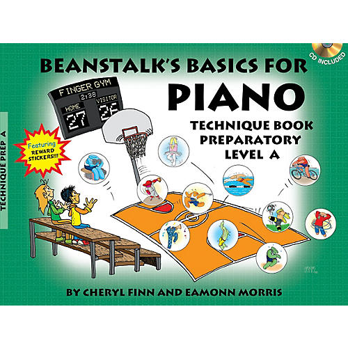 Willis Music Beanstalk's Basics for Piano Willis Series Softcover with CD Written by Cheryl Finn