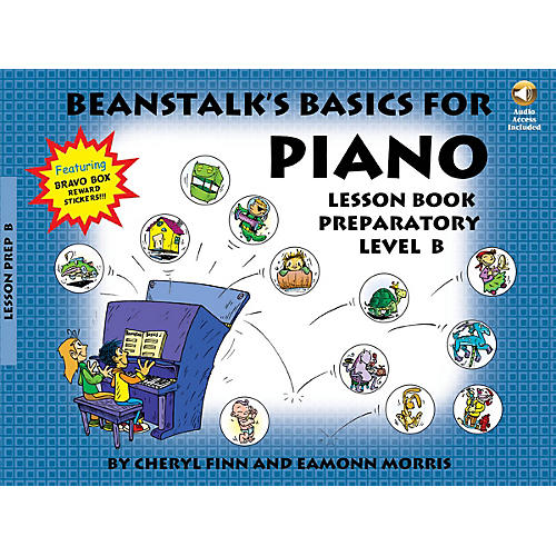 Willis Music Beanstalk's Basics for Piano Willis Series Softcover with CD Written by Cheryl Finn-thumbnail