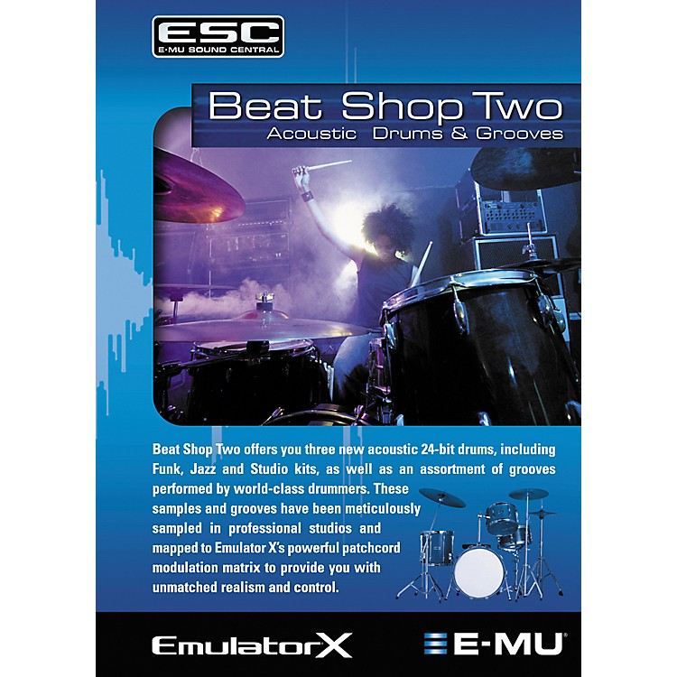 E-MuBeat Shop Two Sample CD-ROM
