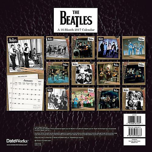 Browntrout Publishing Beatles 2017 12x12 Trends Calendar-thumbnail