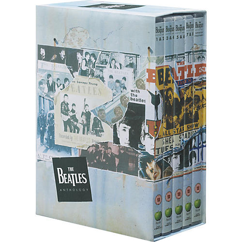 Music CD Beatles Anthology (DVD)