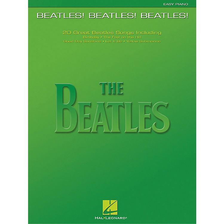 Hal LeonardBeatles! Beatles! Beatles! For Easy Piano