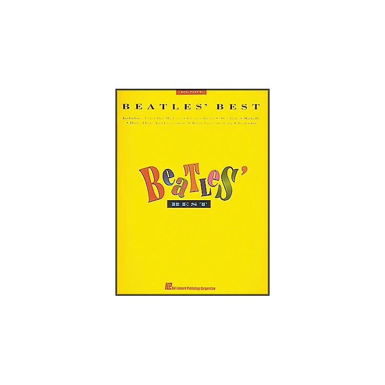 Hal LeonardBeatles' Best for Big Note Piano
