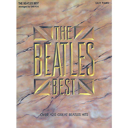 Hal Leonard Beatles Best for Easy Piano