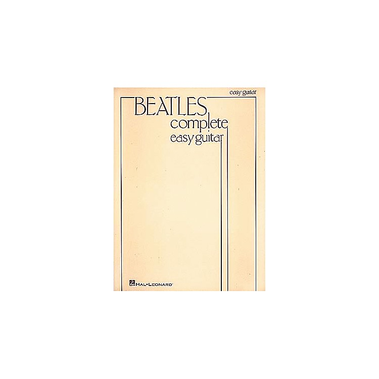 Hal Leonard Beatles Complete Easy Guitar Songbook