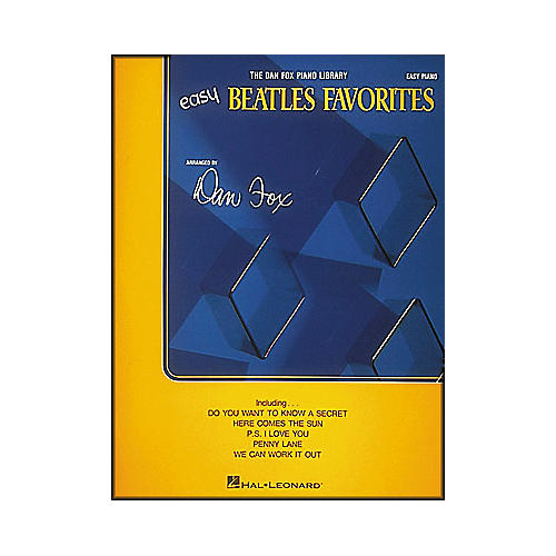 Hal Leonard Beatles Favorites for Easy Piano