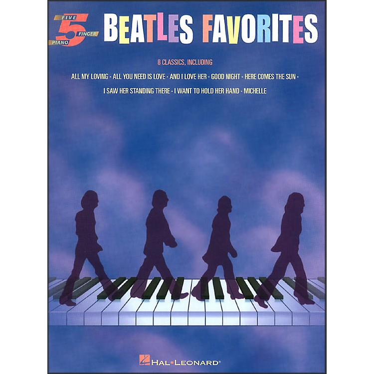 Hal Leonard Beatles Favorites for Five Finger Piano