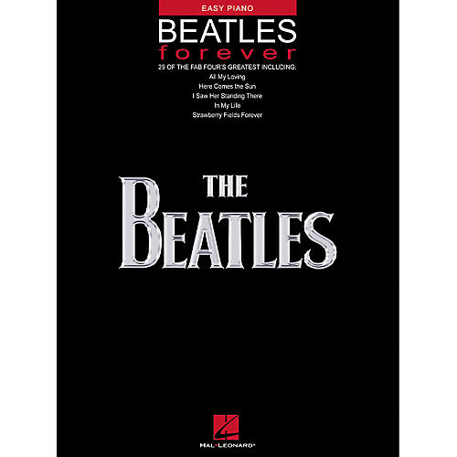 Hal Leonard Beatles Forever For Easy Piano-thumbnail