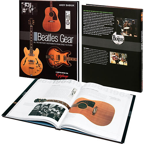 Epiphone Beatles Gear - Limited Edition Book