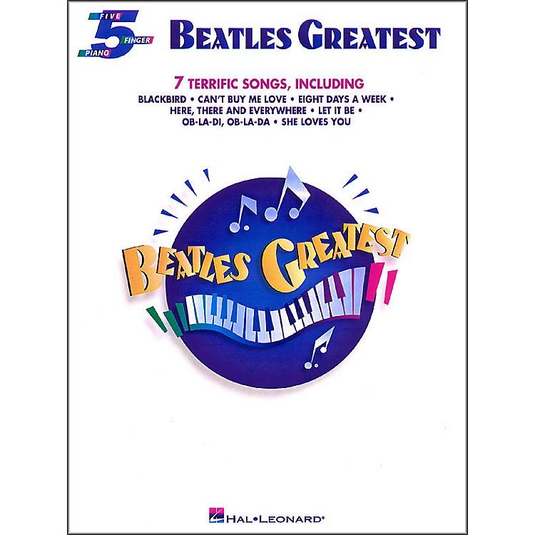 Hal LeonardBeatles Greatest for Five Finger Piano