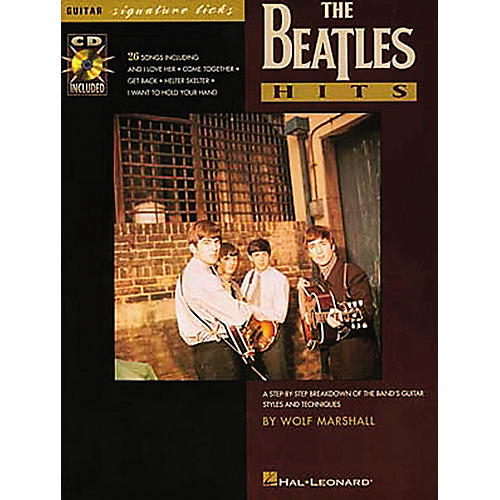 Hal Leonard Beatles Hits Guitar Signature Licks Book with CD