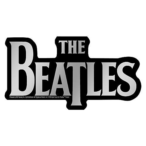 C&D Visionary Beatles Logo Sticker Chrome
