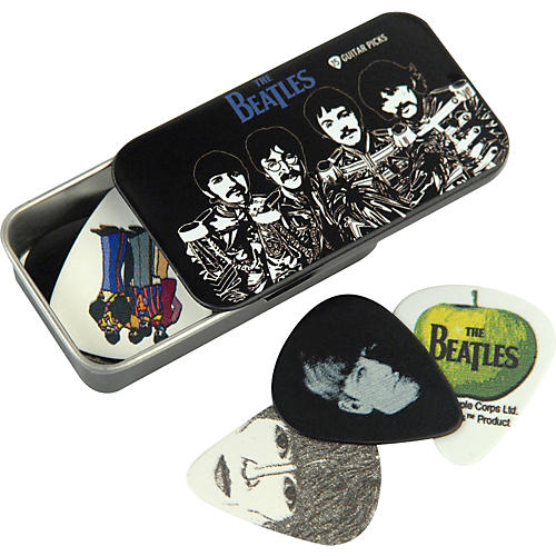 D'Addario Planet Waves Beatles Sgt. Pepper's Pick Tin - 15 Medium Picks
