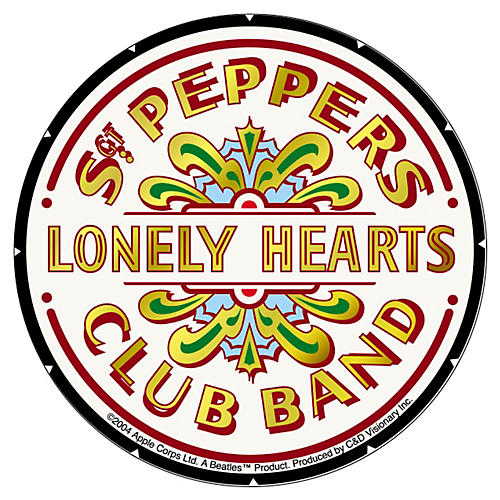 C&D Visionary Beatles Sgt. Peppers Sticker-thumbnail