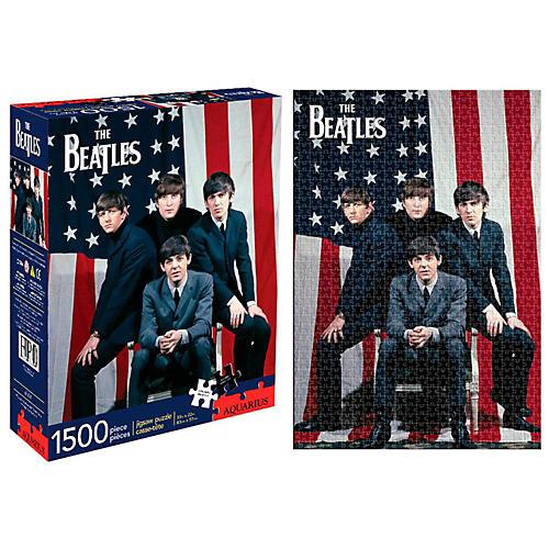 Hal Leonard Beatles USA 1,500 Piece Puzzle-thumbnail