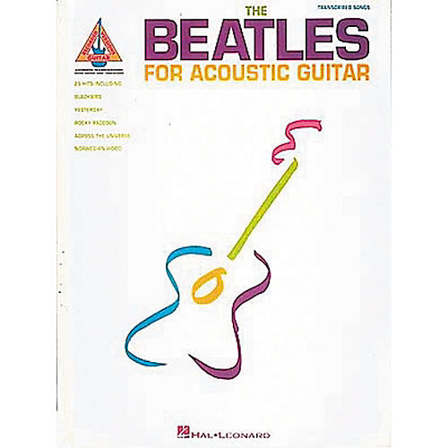 Hal Leonard Beatles for Acoustic Guitar Tab Book