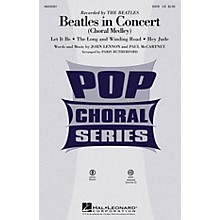 Hal Leonard Beatles in Concert (Choral Medley) ShowTrax CD by The Beatles Arranged by Paris Rutherford