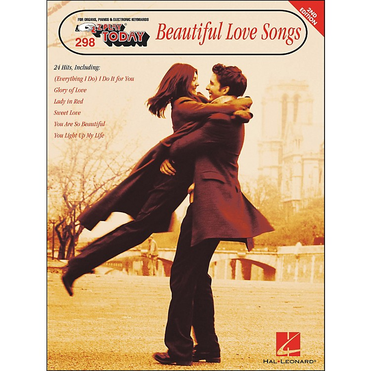 Hal LeonardBeautiful Love Songs 2nd Edition E-Z Play 298
