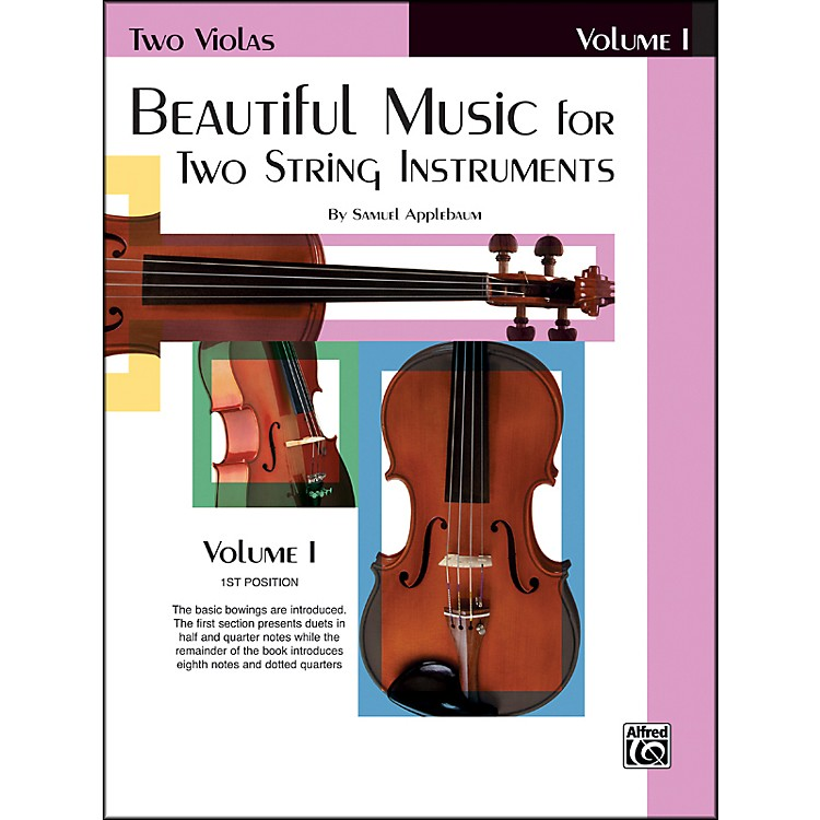 AlfredBeautiful Music for Two String Instruments Book I 2 Violas