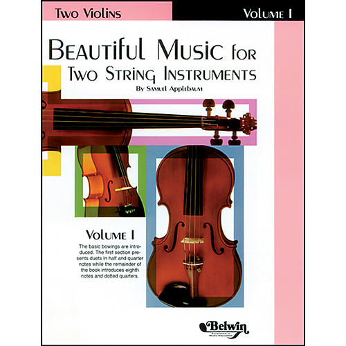 Alfred Beautiful Music for Two String Instruments, Book I-thumbnail