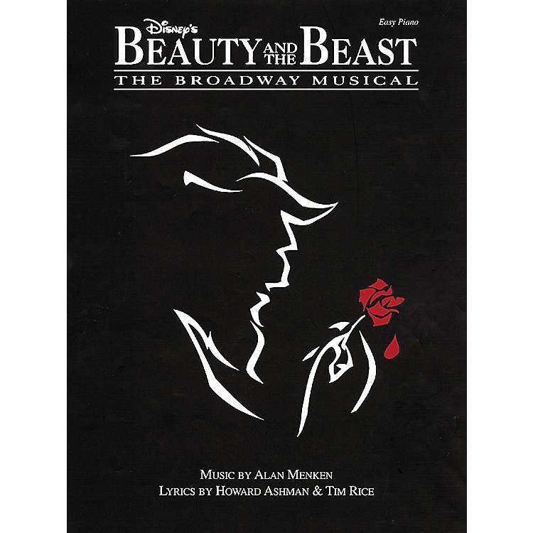 Hal LeonardBeauty & The Beast The Broadway Musical For Easy Piano