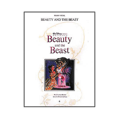 Hal Leonard Beauty and the Beast Piano, Vocal, Guitar Songbook-thumbnail