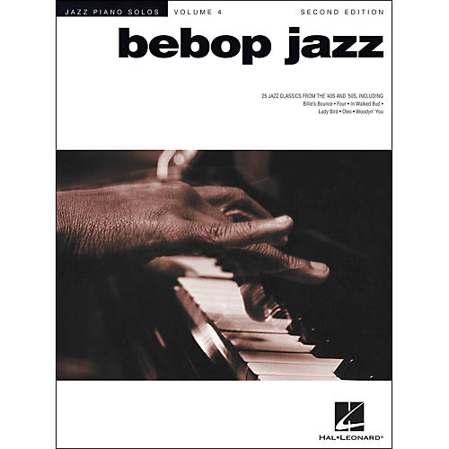 Hal Leonard Bebop Jazz Piano Solos
