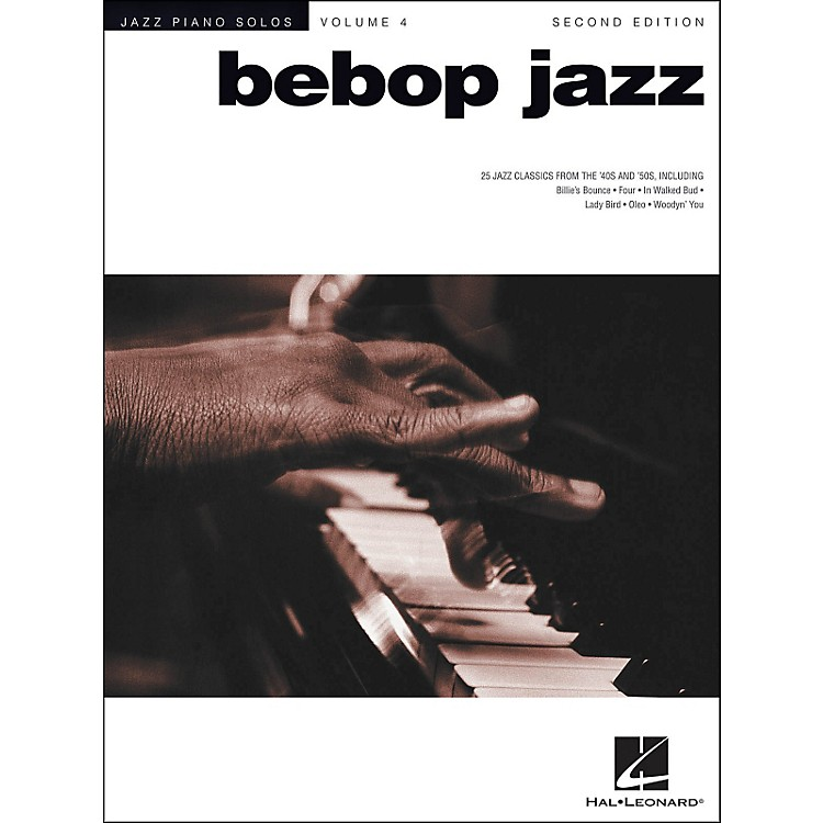 Hal LeonardBebop Jazz Piano Solos