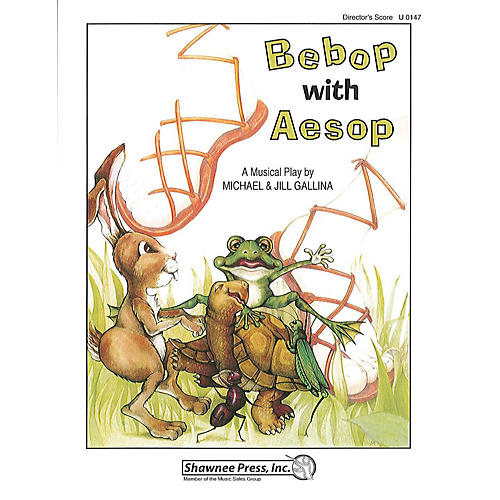 Shawnee Press Bebop with Aesop! DIRECTOR MAN composed by Jill Gallina-thumbnail