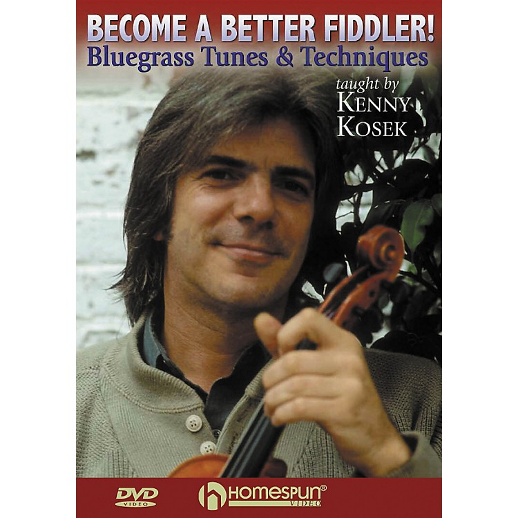 HomespunBecome a Better Fiddler - Bluegrass Tunes and Techniques (DVD)