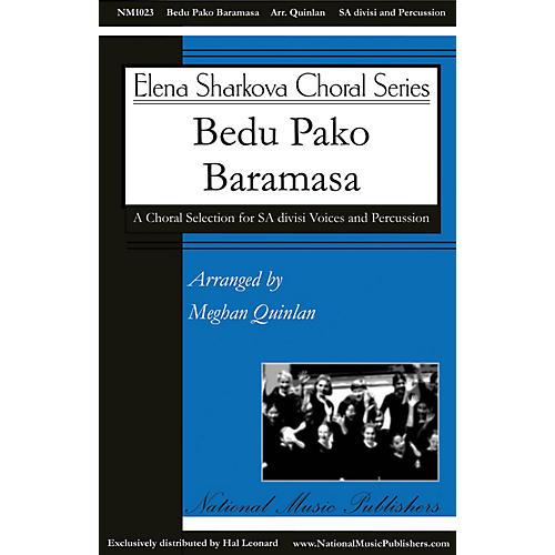 National Music Publishers Bedu Pako Baramasa SA arranged by Meghan Quinlan-thumbnail