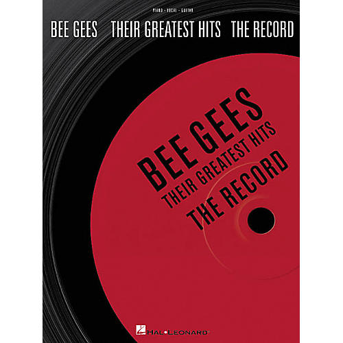Hal Leonard Bee Gees - Their Greatest Hits: The Record Book-thumbnail