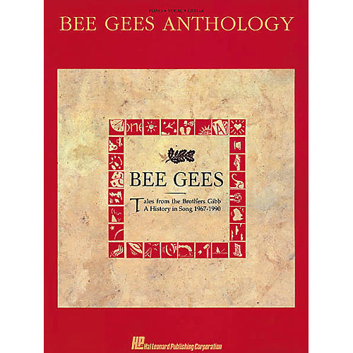 Hal Leonard Bee Gees Anthology Piano, Vocal, Guitar Songbook