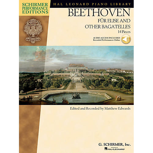 G. Schirmer Beethoven - Für Elise and Other Bagatelles Schirmer Performance Editions Series Softcover Audio Online-thumbnail